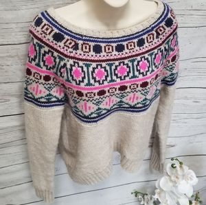 American Eagle Outfitters Nordic Knit Sweater